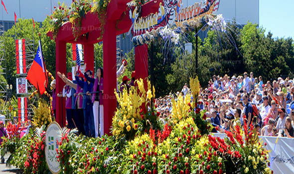 World Best Rose Festival in Portland, Oregon