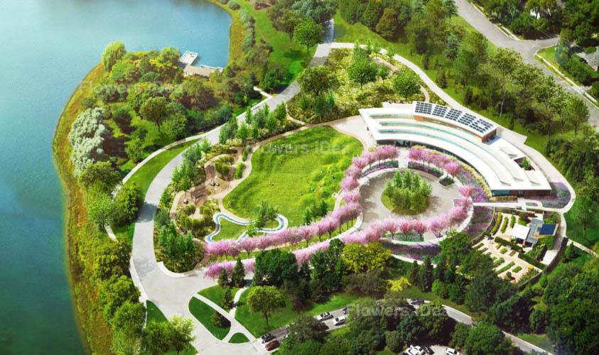 Chicago Botanic Garden and Flowers Gardens