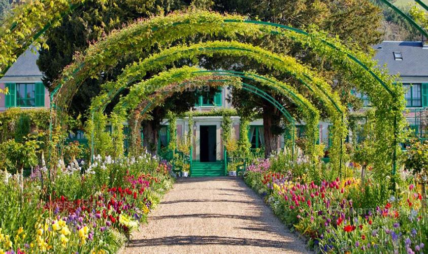 Claude Monet's Flowers Gardens