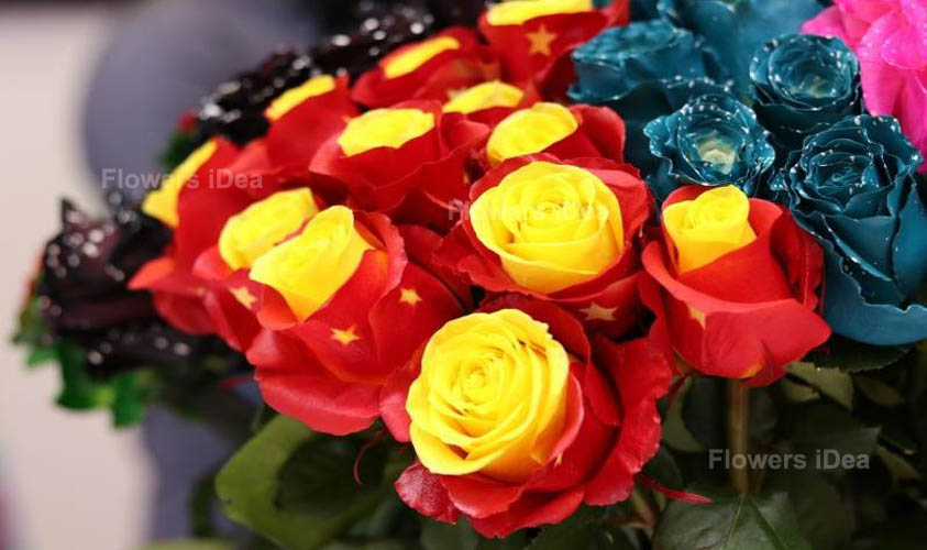 Ecuador Roses Exotic Flower