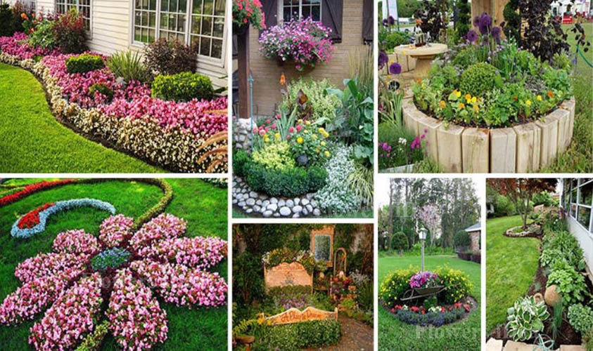 Amazing Flower Bed Ideas for Flower Lovers