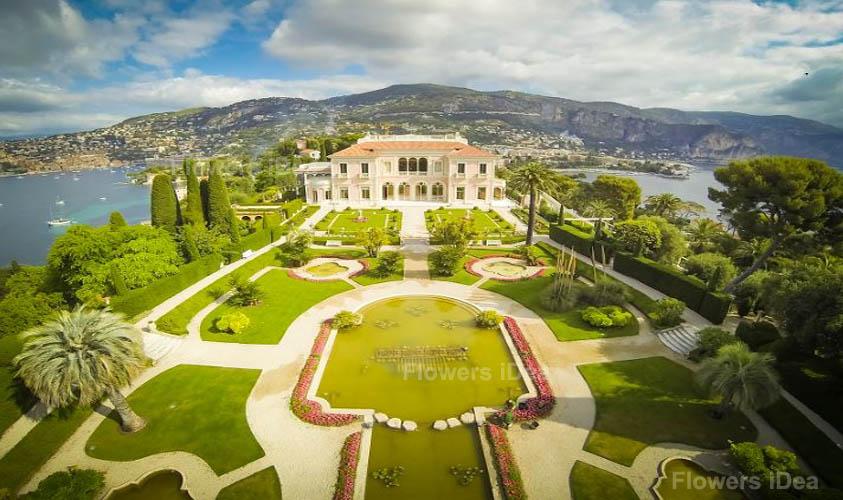 Gardens of the Villa Éphrussi de Rothschild Flowers Gardens