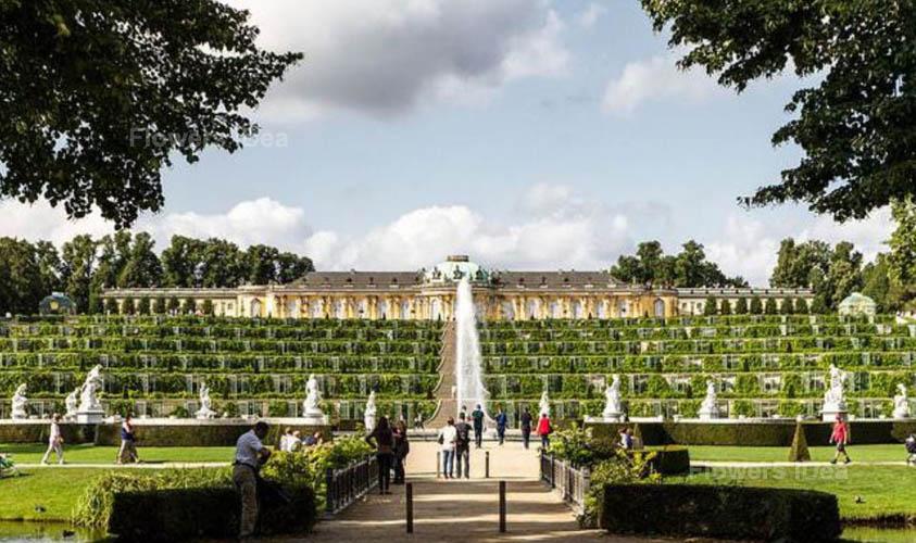 Sanssouci Park and Flowers Gardens
